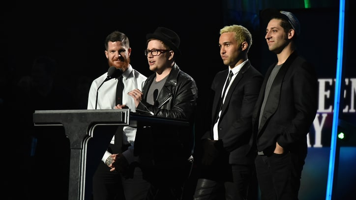 Fall Out Boy on Green Day's Rock Hall Induction: 'A Win for Punk Rock'