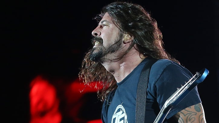 Hear Dave Grohl and Lamb of God's Randy Blythe Jam a Hardcore Rager