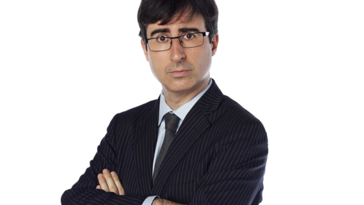 John Oliver Prepares to Step in on 'Daily Show'