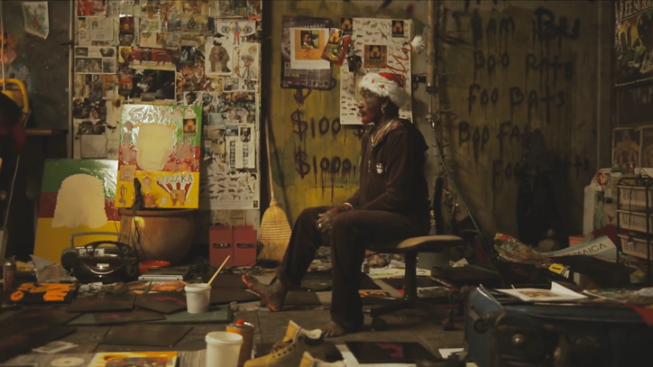 Watch Lee 'Scratch' Perry Paint a Record in RLR's 'I Am Paint' Video