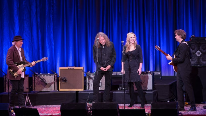 Robert Plant, Alison Krauss Honor Folk Great Lead Belly