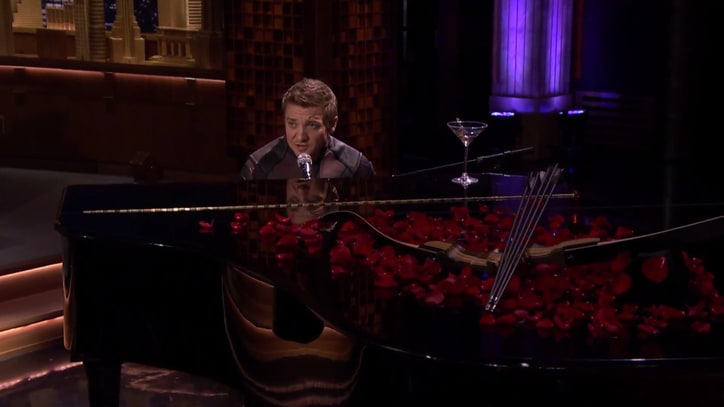 Watch Jeremy Renner Sing Hawkeye Ode on 'Tonight Show'