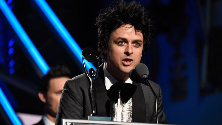 Billie Joe Armstrong Talks 'Surreal' Hall of Fame Night, New Green Day LP