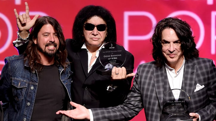 Dave Grohl Recalls Kiss Army 'Induction' at ASCAP Pop Awards