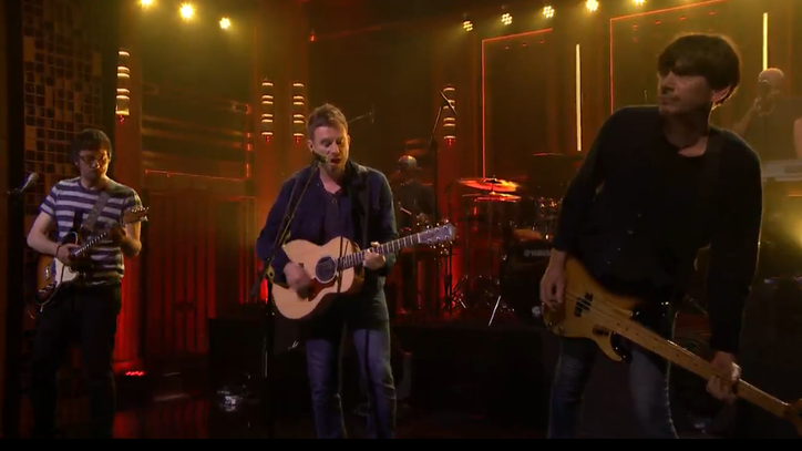 Watch Blur Bring Joyous 'Ong Ong' to 'Tonight Show'