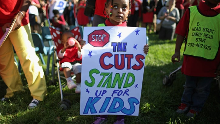Poor Preschoolers Suffer During Government Shutdown