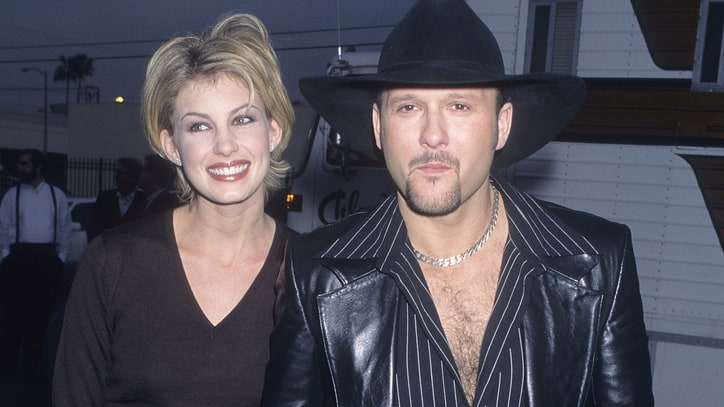 Flashback: Tim McGraw, Faith Hill Ignite CMA Stage With First Duet
