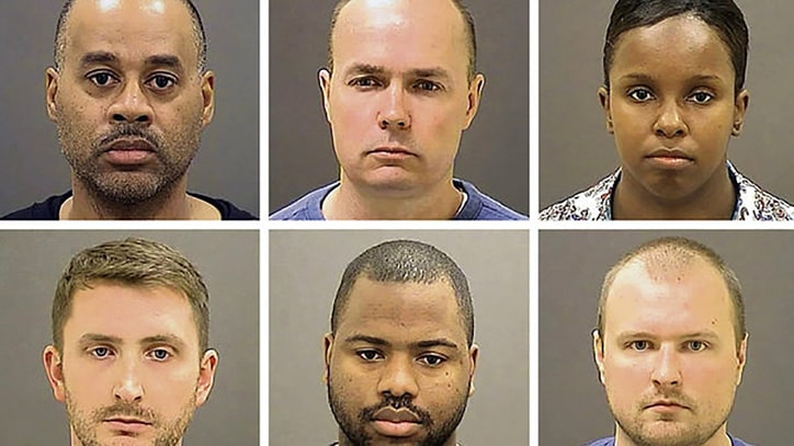 Six Officers Charged in Death of Freddie Gray