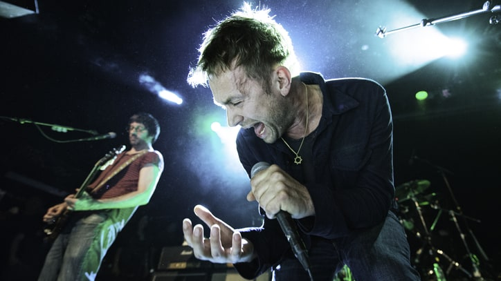 Blur Thrill Fans at Free Brooklyn Club Show