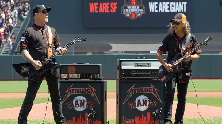Watch Metallica Perform the National Anthem at San Francisco Giants Game