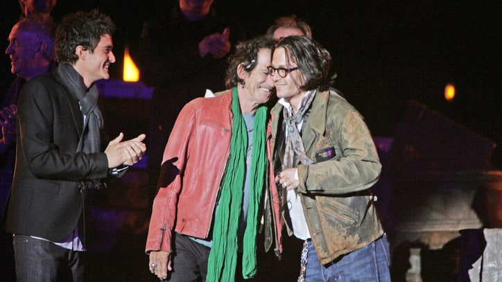 Keith Richards and Johnny Depp: Blood Brothers