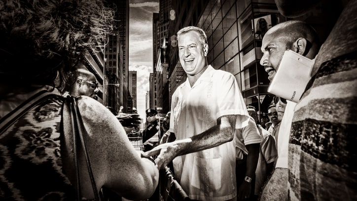 Mayor Bill de Blasio's Crusade