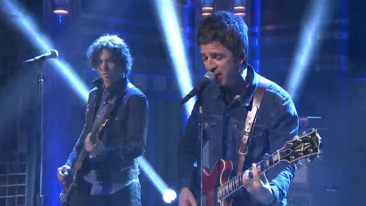 Watch Noel Gallagher Revive Oasis Demo 'Lock All the Doors' on 'Fallon'