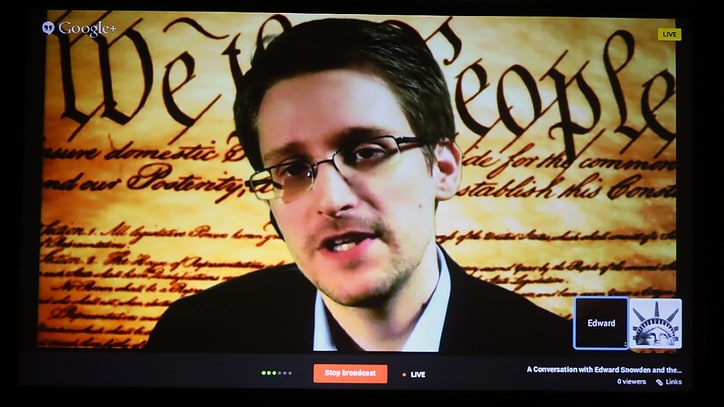 Edward Snowden Defends NSA Surveillance Leaks at SXSW
