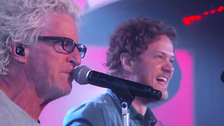 Watch Imagine Dragons, REO Speedwagon Form Temporary Supergroup on 'Kimmel'