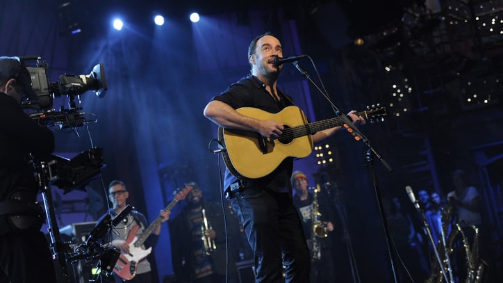 Watch Dave Matthews Band Debut New Song in Final Letterman Set