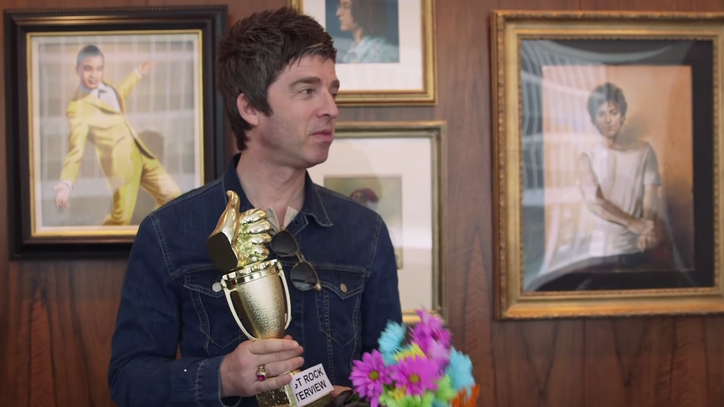 Watch Noel Gallagher Accept the Rolling Stone Award for 'Best Rock Interview'
