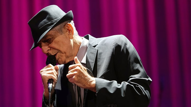Leonard Cohen Releases Five Songs From New Live Album