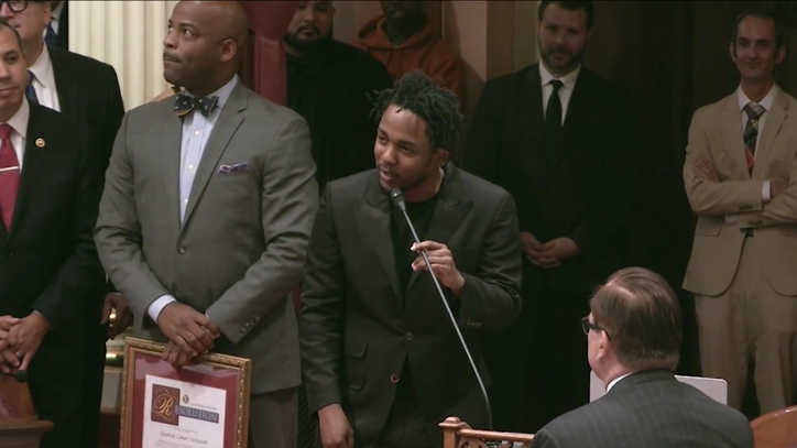 Kendrick Lamar Named 'Generational Icon' by California Senate