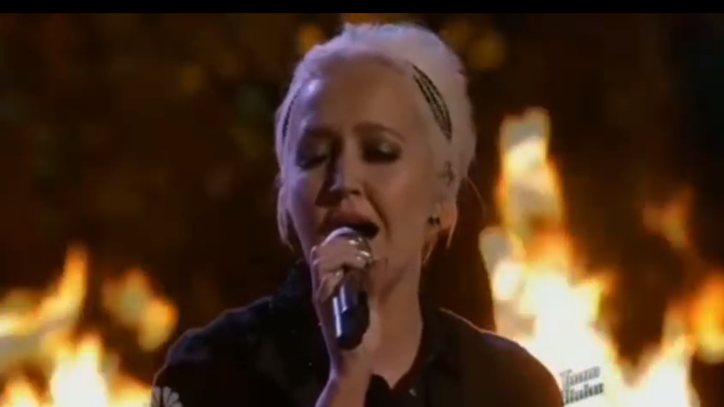 See Meghan Linsey's Smooth Cover of 'Tennessee Whiskey' on 'The Voice'