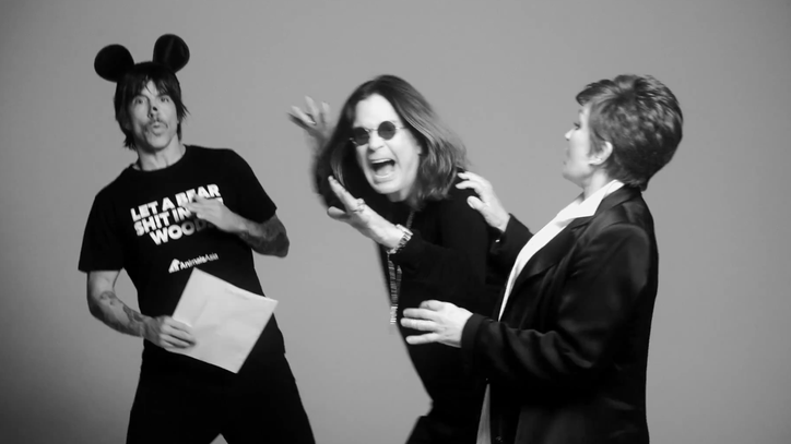 Watch Ozzy Osbourne, Anthony Kiedis, Moby Stump for Mistreated Bears