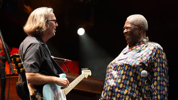 Eric Clapton Pays Tribute to B.B. King: 'He Was a Beacon'