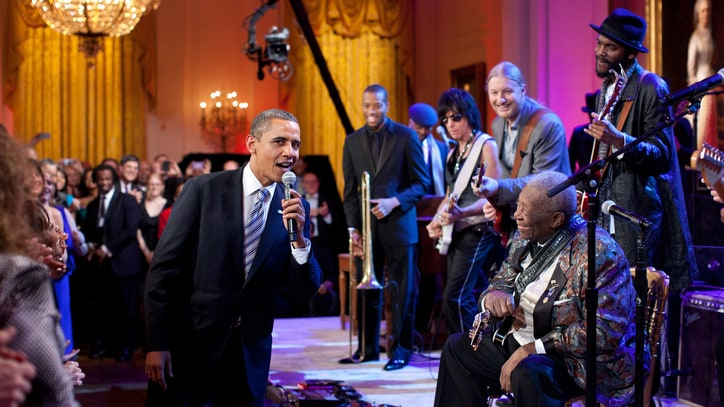 President Obama on B.B. King: 'America Has Lost a Legend'