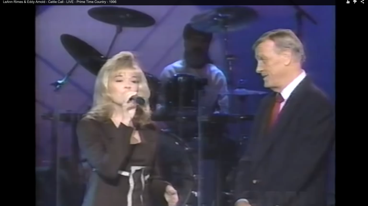 Flashback: Eddy Arnold Joins Teen LeAnn Rimes in a Yodeling Match
