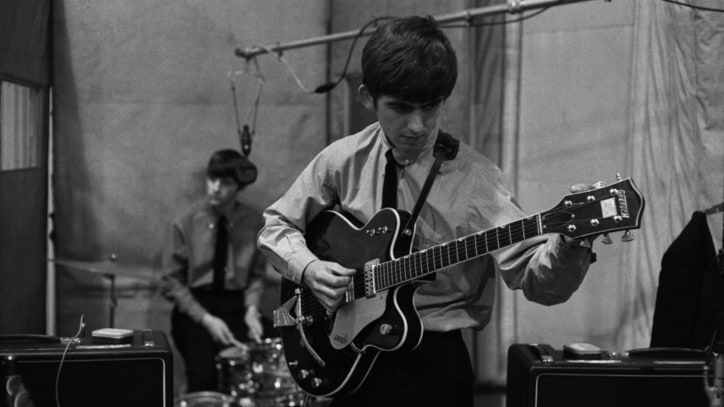 George Harrison's 1963 Maton Guitar Sells for $485,000 at Auction