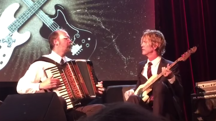Duff McKagan, Krist Novoselic Perform 'Sweet Child O' Mine' With Accordion