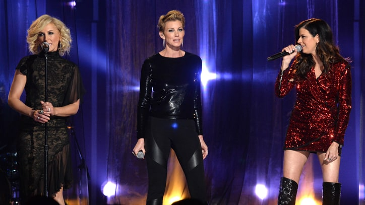 Watch Faith Hill Join Little Big Town for Sultry 'Girl Crush'