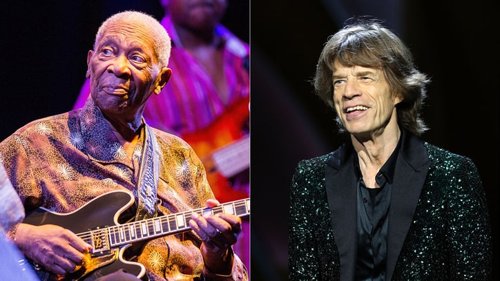 Mick Jagger Remembers B.B. King, Names Favorite Rapper