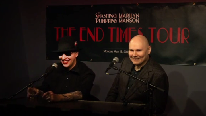 Marilyn Manson, Billy Corgan's Press Conference: The 10 Funniest Quotes