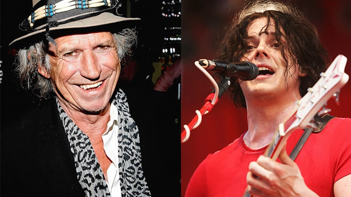 Blues Brothers: Keith Richards and Jack White