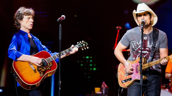 Brad Paisley to Open for the Rolling Stones in Nashville