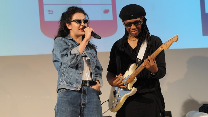 Watch Charli XCX, Nile Rodgers Go Acoustic for 'Boom Clap'
