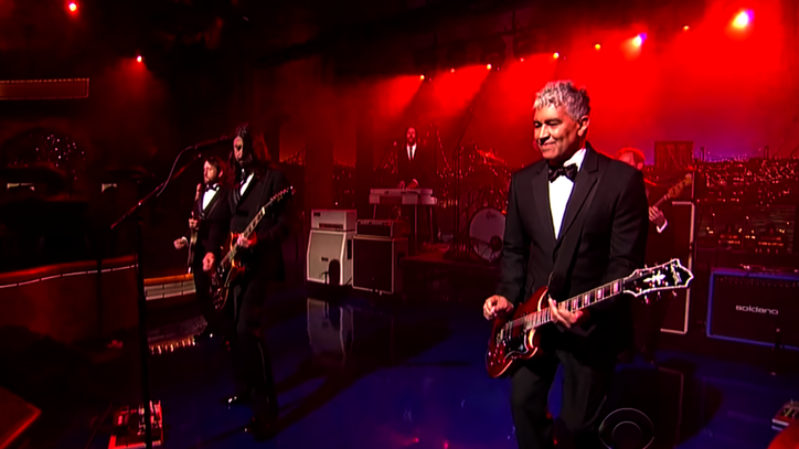 Watch Foo Fighters Score David Letterman's Career-Spanning Montage