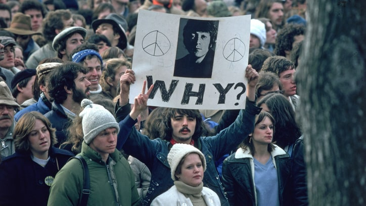 The Day John Lennon Was Shot