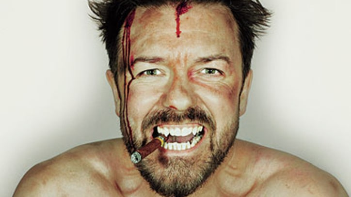 Ricky Gervais Discusses Golden Globes, 'The Office' and Atheism