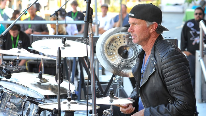 Watch RHCP's Chad Smith Jam With Children for 'Little Kids Rock' Event
