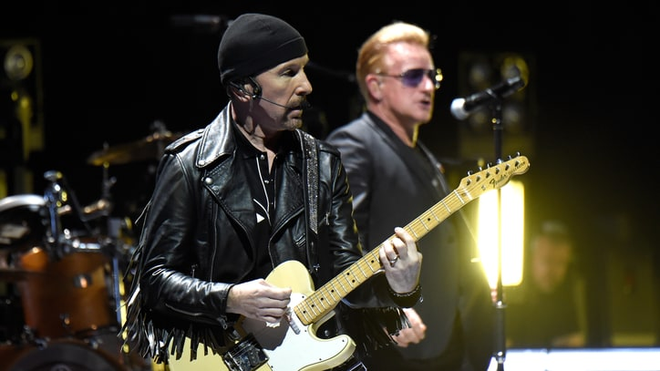 Watch U2 Play Super Rarity 'In God's Country' With Fan On Guitar