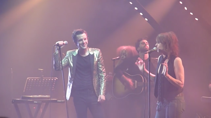 Watch Chrissie Hynde and Brandon Flowers Perform Pretenders Song