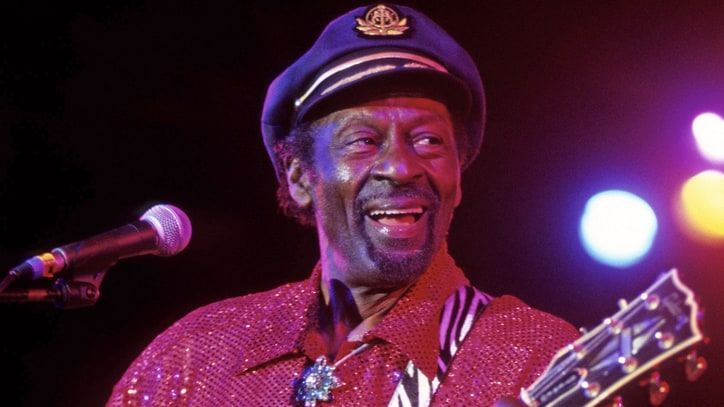 Chuck Berry, the Father of Rock, Turns 75