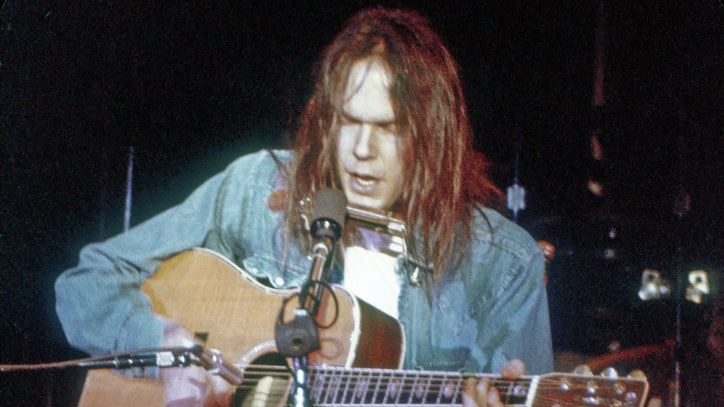 Neil Young at Carnegie Hall