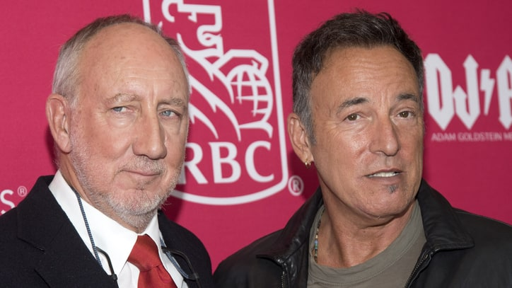 Read Bruce Springsteen's Funny, Moving Tribute to Pete Townshend