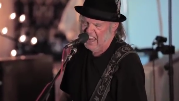 Neil Young Unveils Starbucks-Mocking Music Video