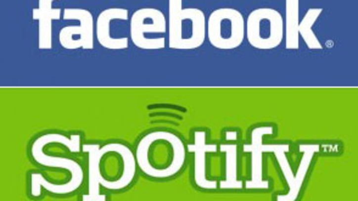 Facebook Teams Up With Spotify For New Music Service