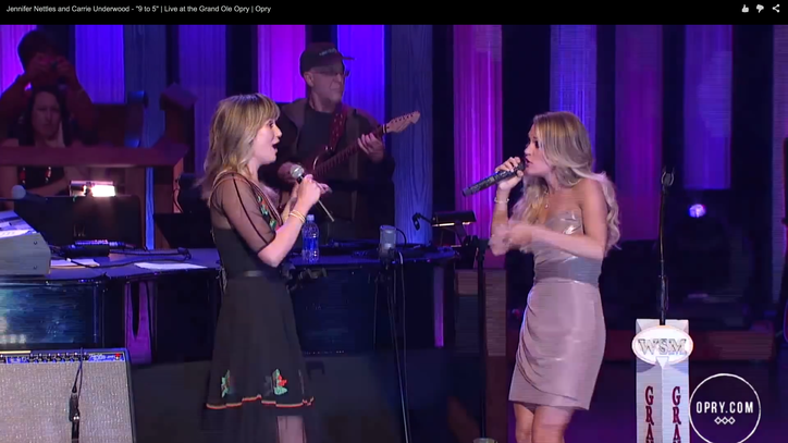 Flashback: Carrie Underwood, Jennifer Nettles Cover Dolly's '9 to 5'