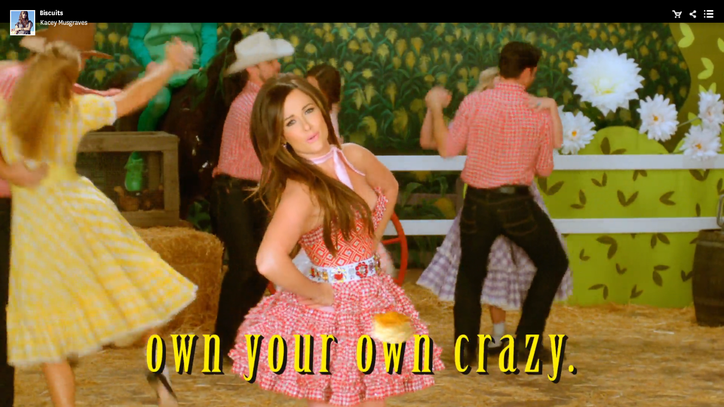 Watch Kacey Musgraves' 'Hee Haw'-Inspired 'Biscuits' Video