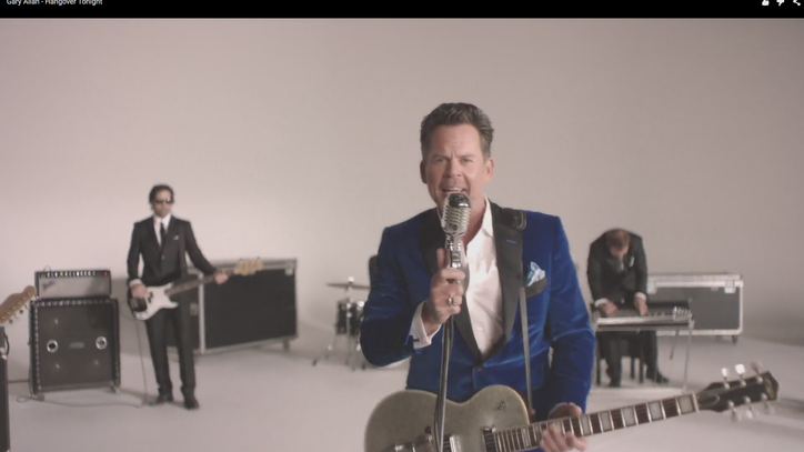 Watch Gary Allan's Intoxicating 'Hangover Tonight' Video